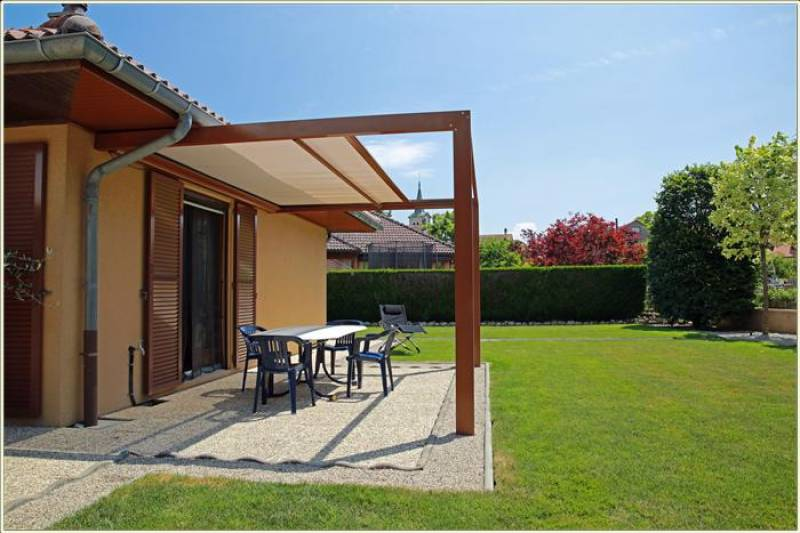 pergolas aluminium a toile retractable a la teste de buch fabricant et installateur de pergola. Black Bedroom Furniture Sets. Home Design Ideas